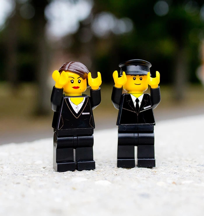 lego funeral set cemetery personnel