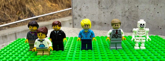 lego funeral set characters