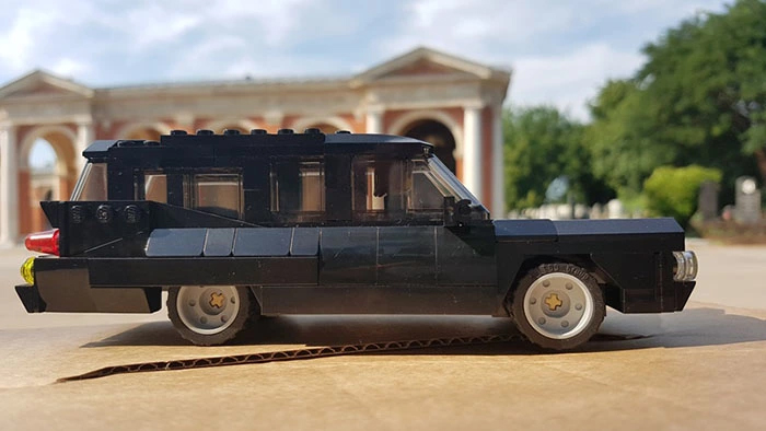 lego funeral set hearse