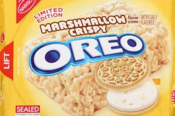 marshmallow crispy oreos