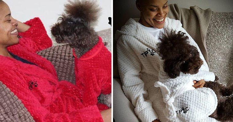 matching bathrobes pets