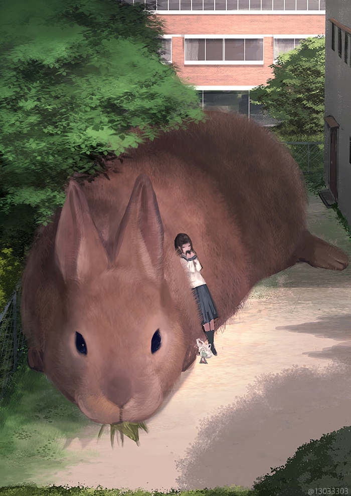 monokubo giant rabbit