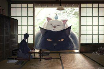 monokubo illustrations gentle giant animals