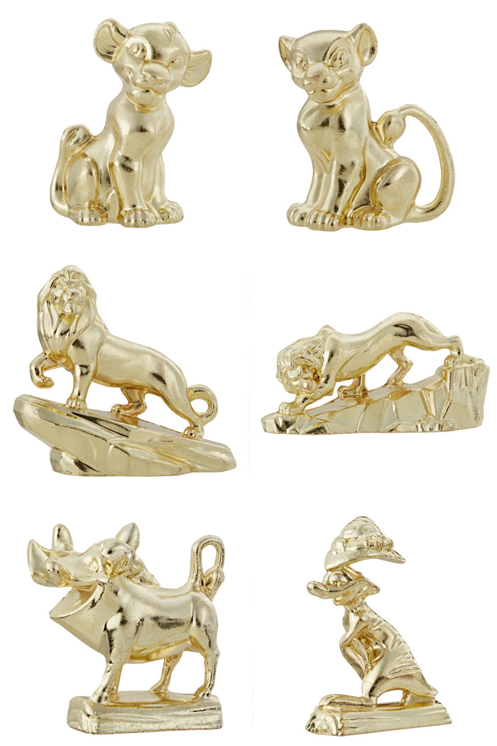 monopoly the lion king pieces