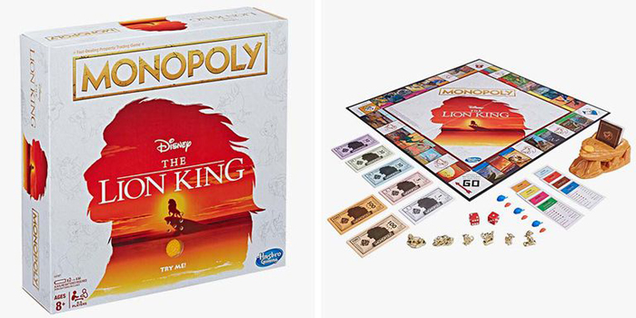 monopoly the lion king walmart