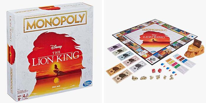 monopoly the lion king walmart