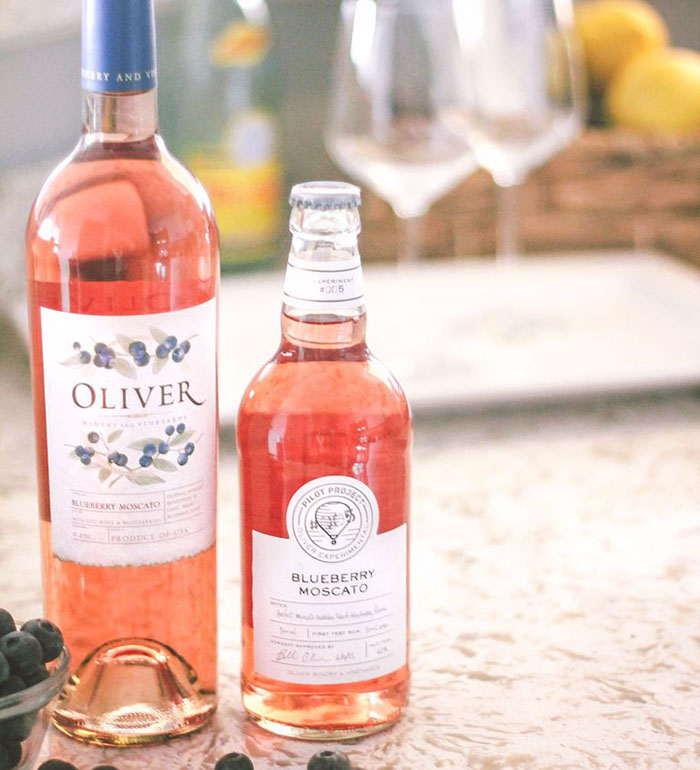olivery winery blueberry moscato