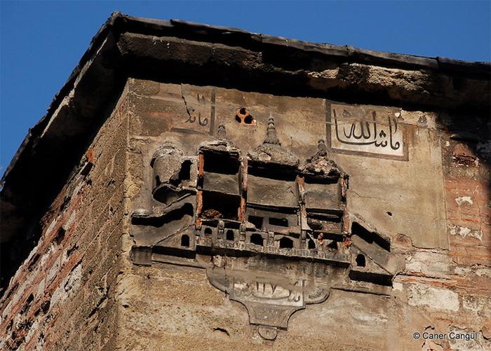 ottoman birdhouse wearing on