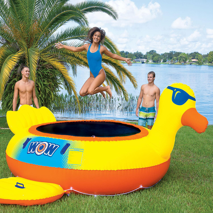 pool float trampoline sams club