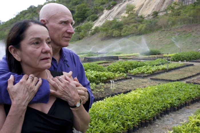 salgado and wife plant 2 million trees