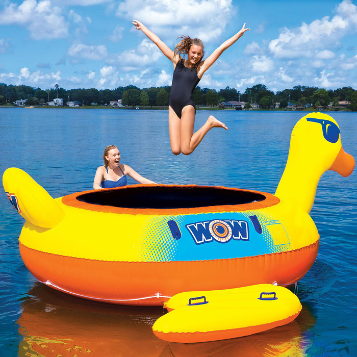 sams club pool float trampoline
