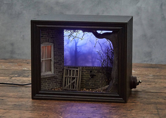 shadow box dioramas miniature scenes