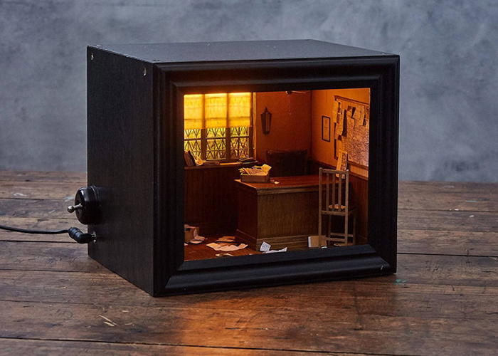 shadow box dioramas spooky miniature scenes