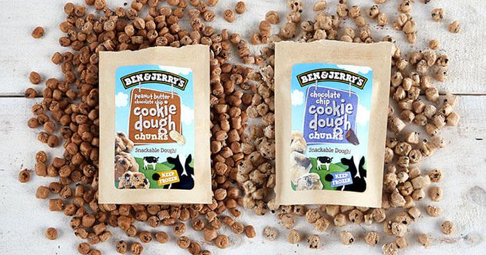snackable dough chunks