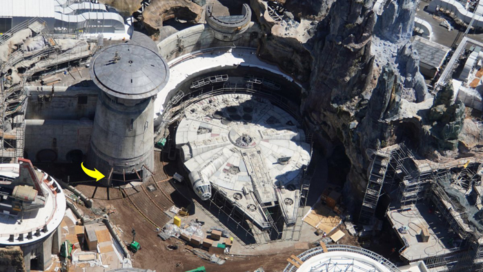 star wars land millennium falcon