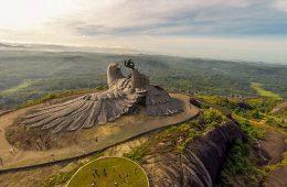 tallest bird sculpture india