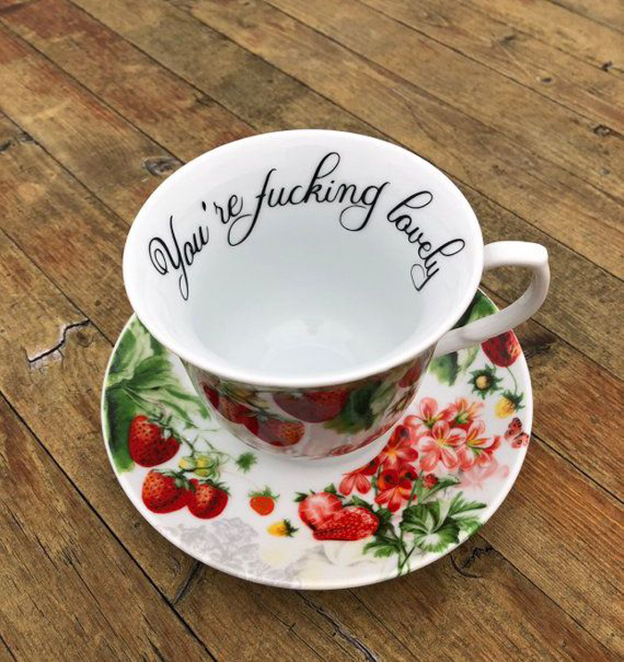 tea cup fucking lovely hilarious gifts