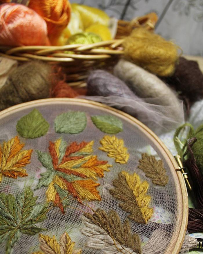 tulle embroidery krista decor