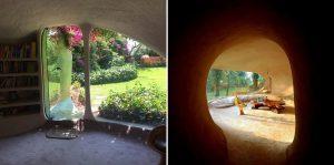 underground organic hobbit house