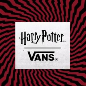 vans harry potter hogwarts-themed shoes