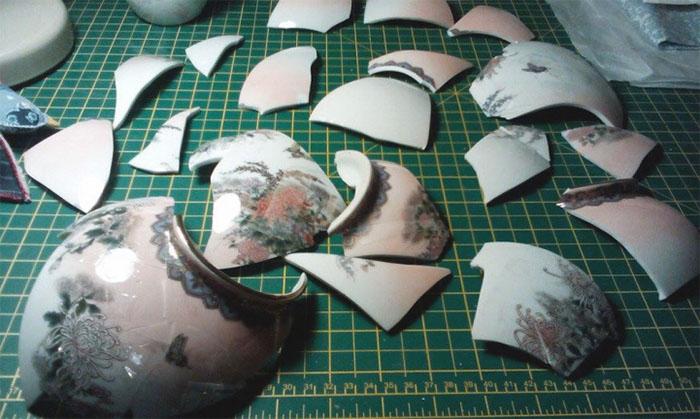 vase pieces