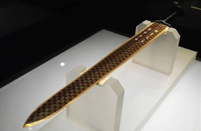 2500-year-old chinese sword of goujian