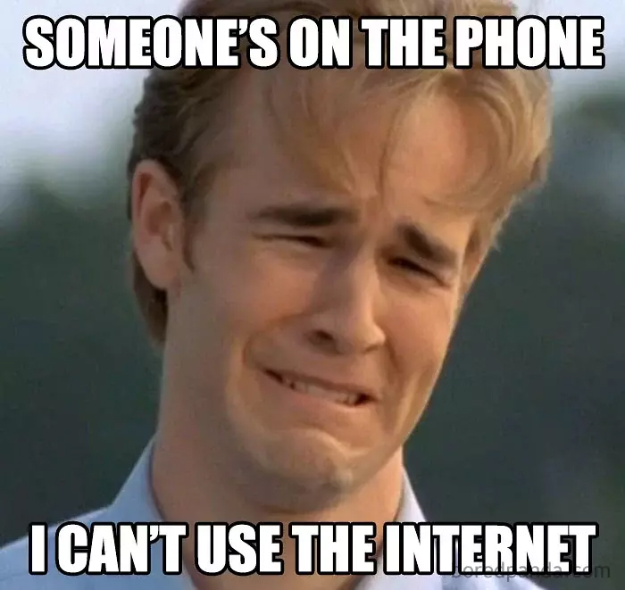 90s kids struggles phone internet