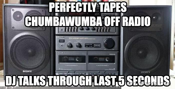 90s kids struggles radio recording