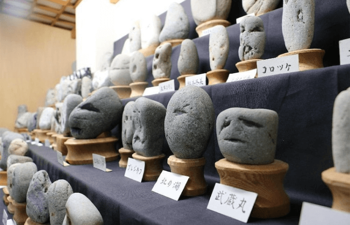 Chinsekikan rock face museum 1