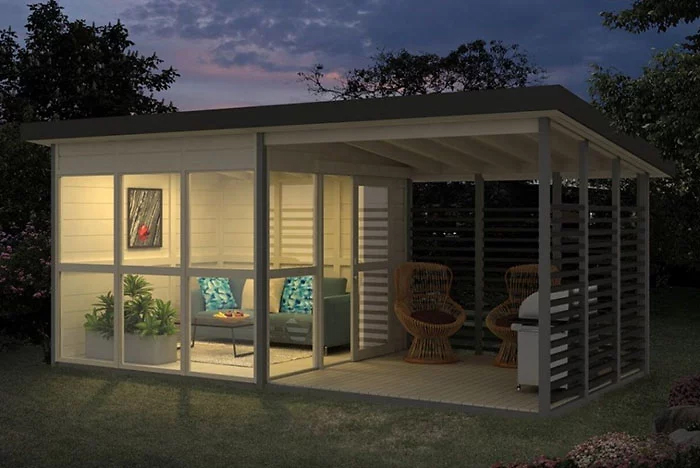 allwood diy garden house