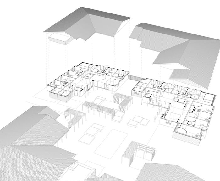 alzheimer's village residential area blueprint