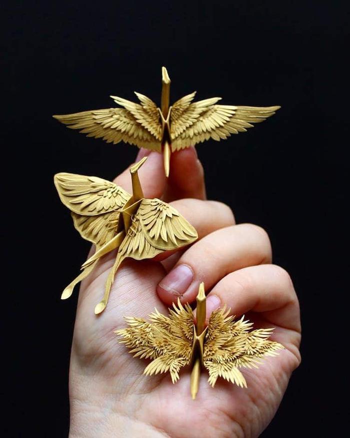 amazing paper cranes origami