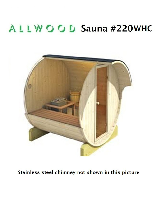 amazon allwood diy backyard sauna