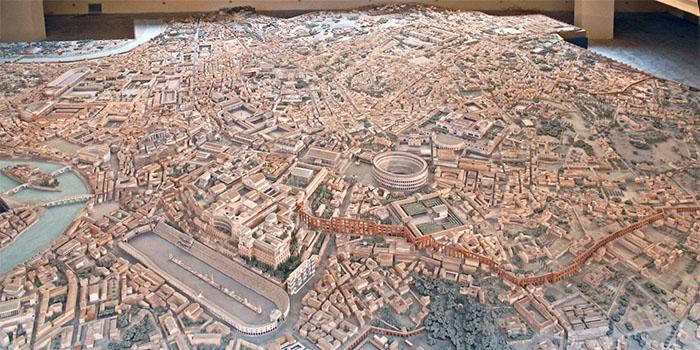 ancient rome model