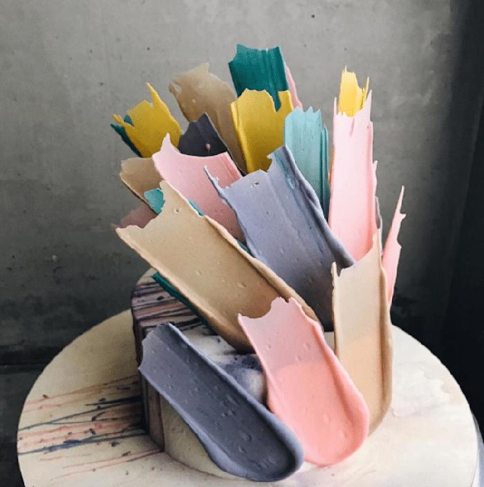 brushstroke cakes kalabasa
