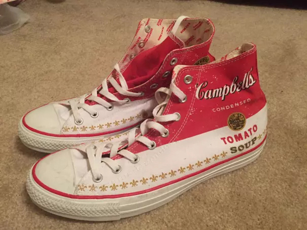 campbell tomato soup shoes