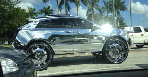car too much chrome