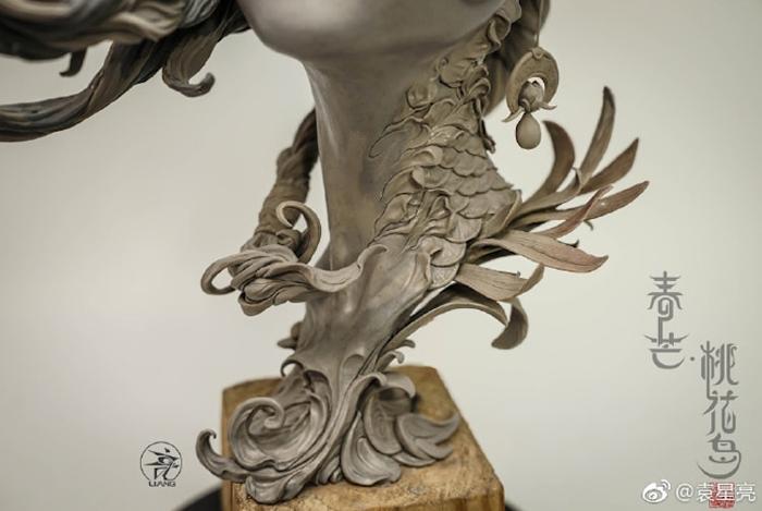 chunmang peach blossom island neck details