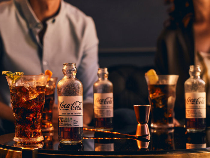 coca-cola signature mixers cocktail