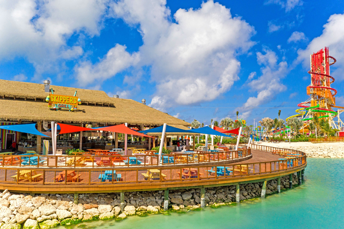 cococay water park skippers grill