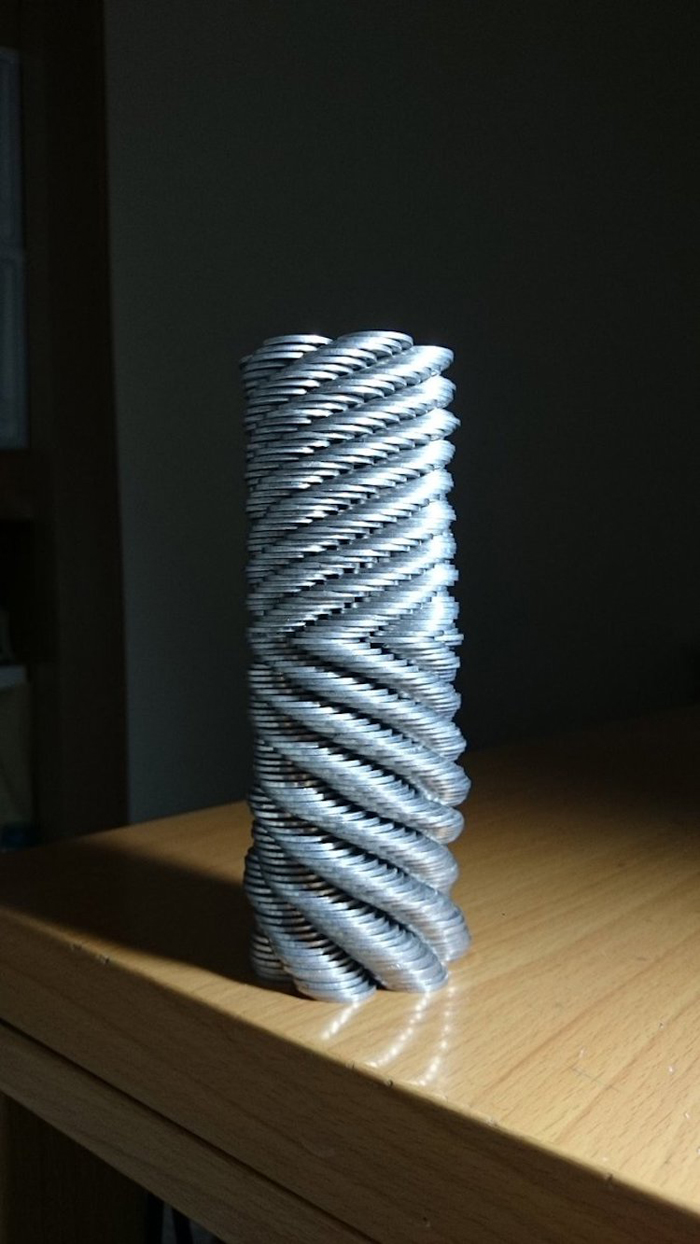 coin stacking tower