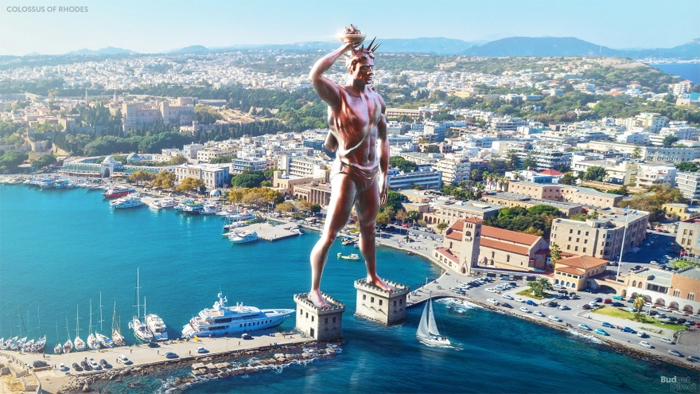colossus of rhodes reconstructed