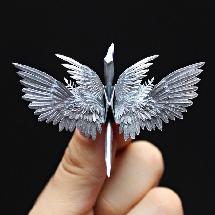 cristian marianciuc amazing origami cranes