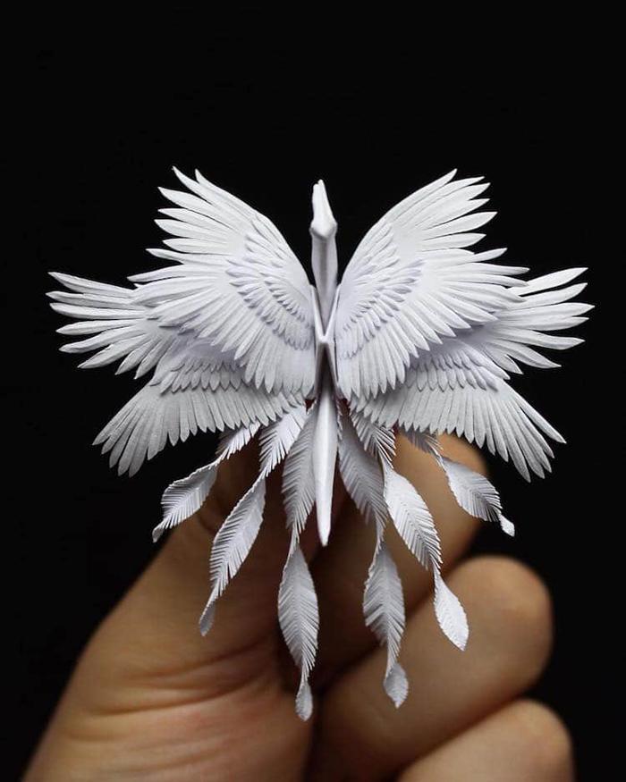 cristian marianciuc origami cranes