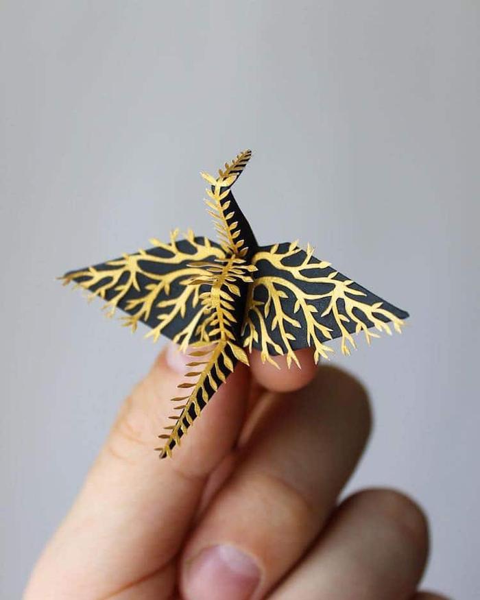 cristian marianciuc paper cranes origami designs