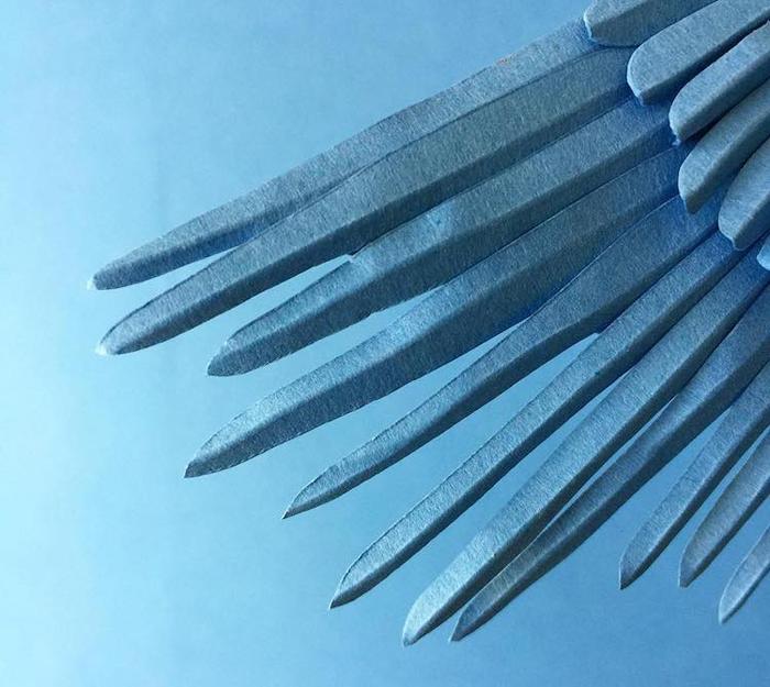 cristian marianciuc paper cranes wings