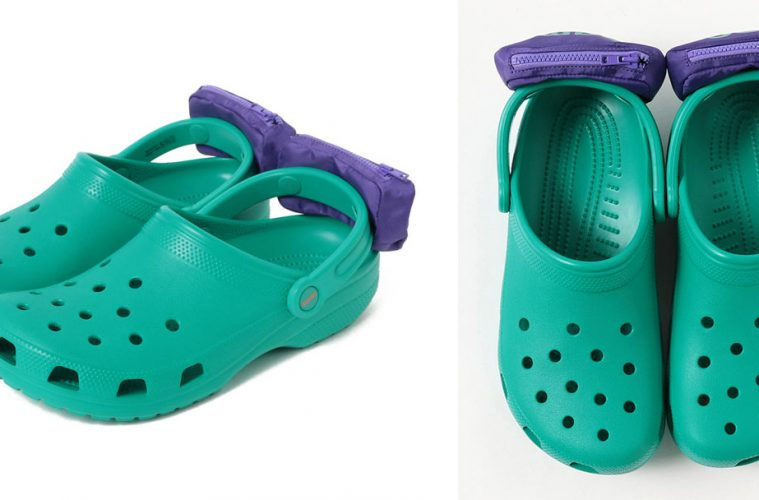 crocs with fanny packs