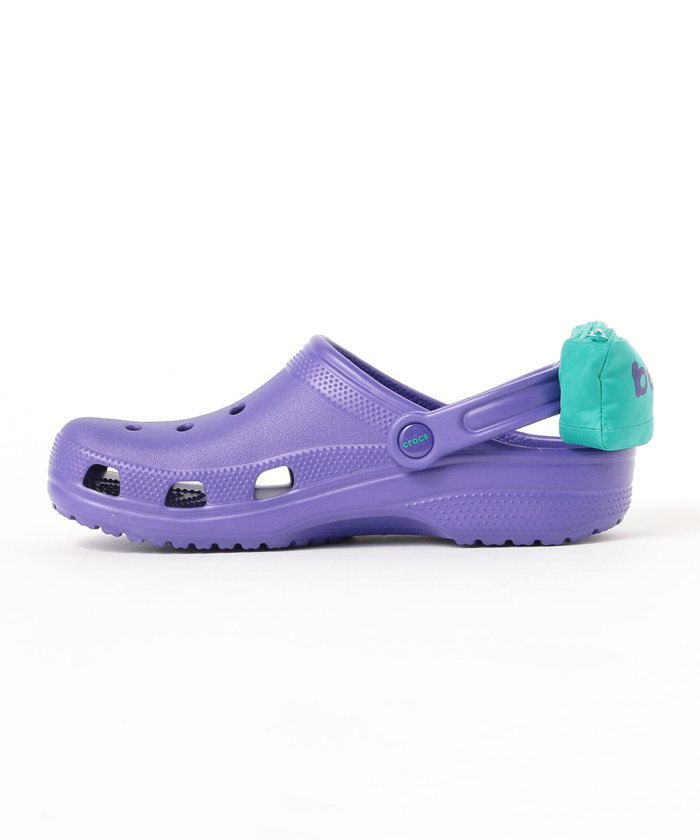 crocs with fanny packs side view