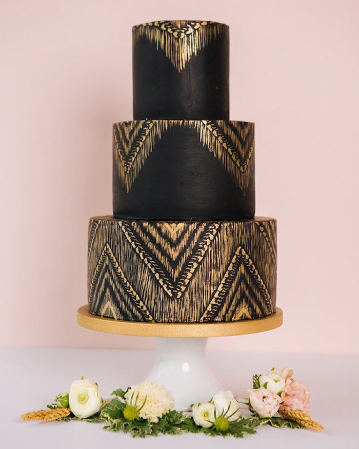 dark wedding cakes cathy haebe