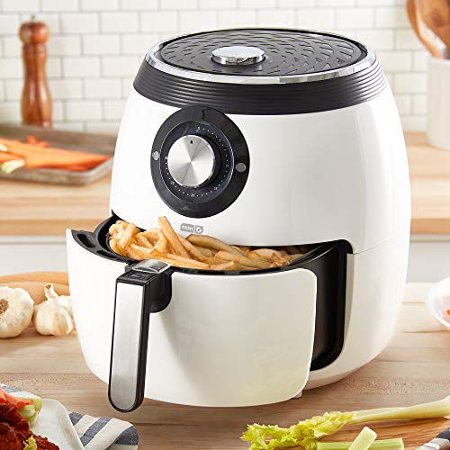 deluxe electric air fryer dash